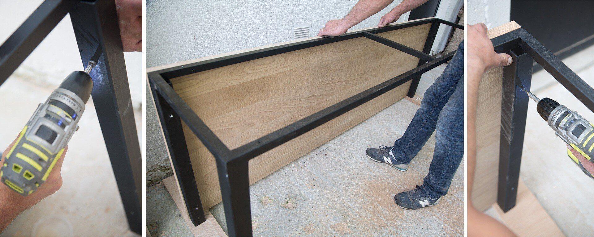 Fabriquer Un Bureau De Travail myryobi, tutoriels de création de meubles et objets diy