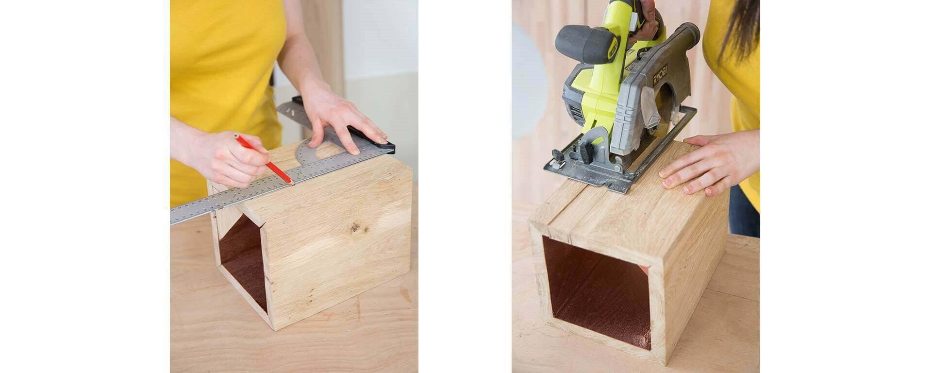 Fabriquer Une Applique En Bois fabriquer une lampe à poser, tutoriel de bricolage