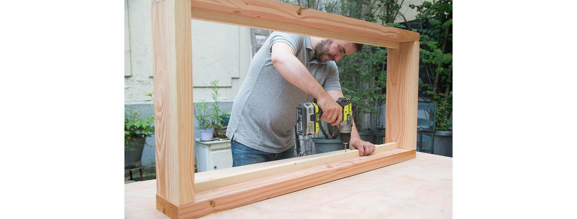 Comment Fixer Des Tasseaux tutoriel vidéo pour fabriquer un canapé, salon de jardin