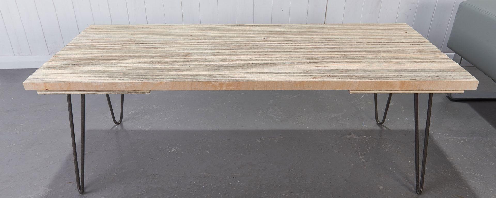 Maintenant Que Vous Avez Réalisé Votre Table Basse, Fabriquer Le Meuble TV  En Bois.