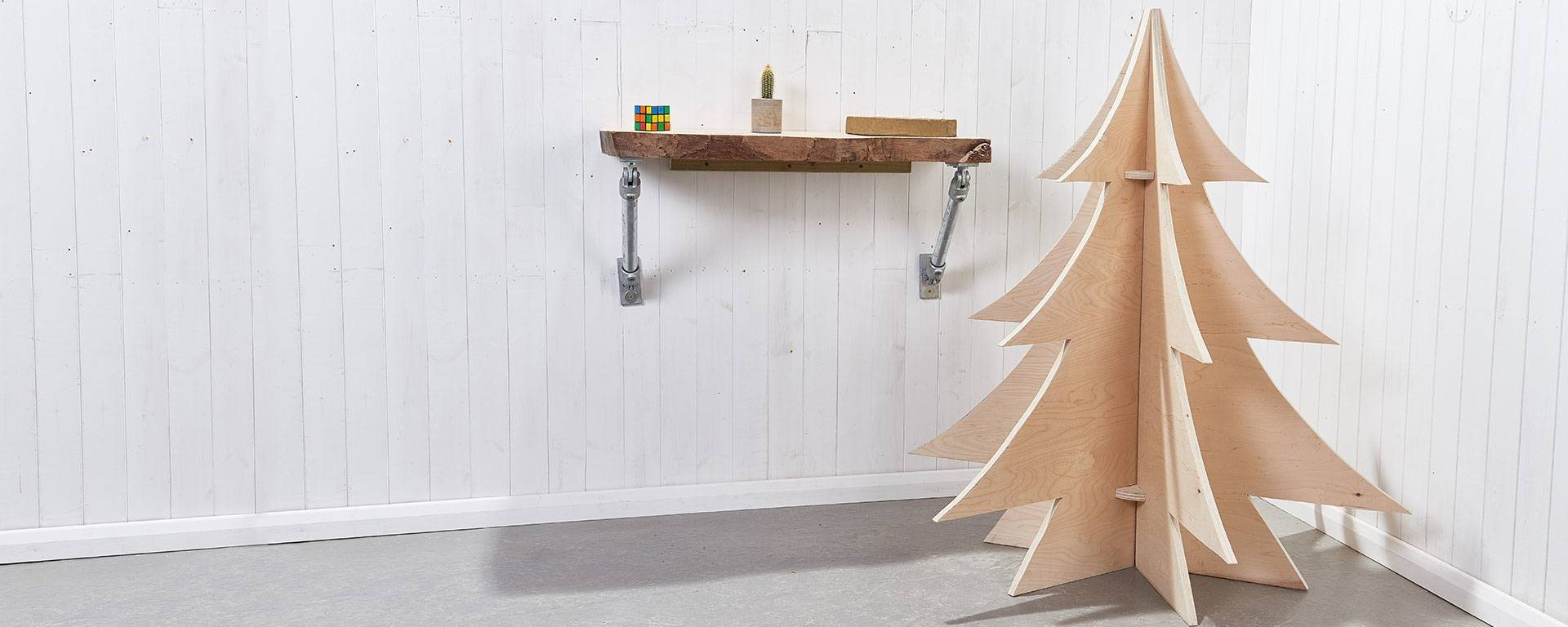 How To Build A Decorative Plywood Christmas Tree