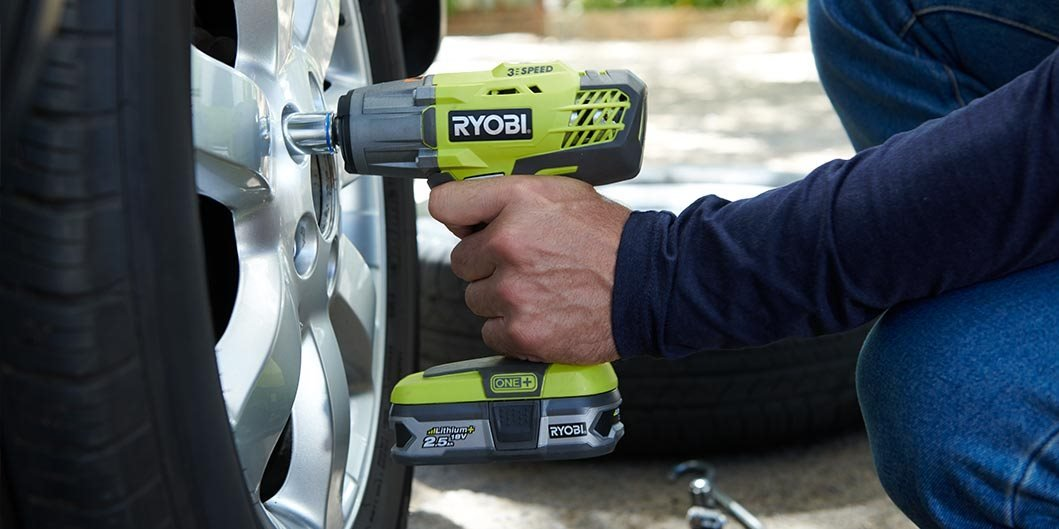 18V ONE+ Impact Wrench (1X2.0Ah Battery)