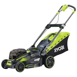 Cordless Lawn Mower, 40cm Deck, Powered by ONE+ (2x4.0Ah)
