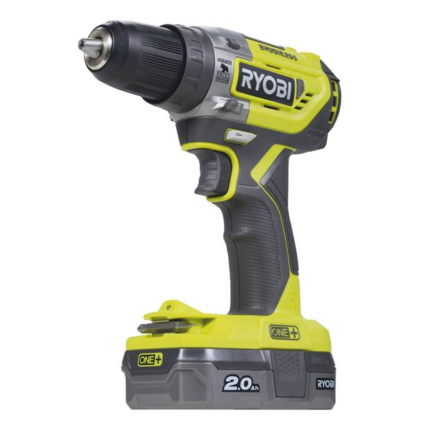 R18PD5-220S 18V Cordless Brushless Percussion Drill (2x2.0Ah)