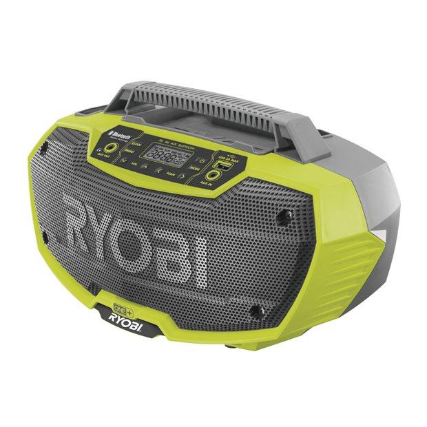 R18RH-0 Radio d'atelier stéréo Bluetooth 18 V ONE+