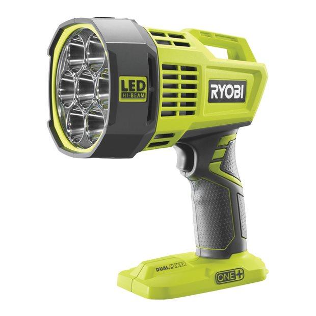 R18SPL-0 18V Cordless LED Hi-Beam Spotlight